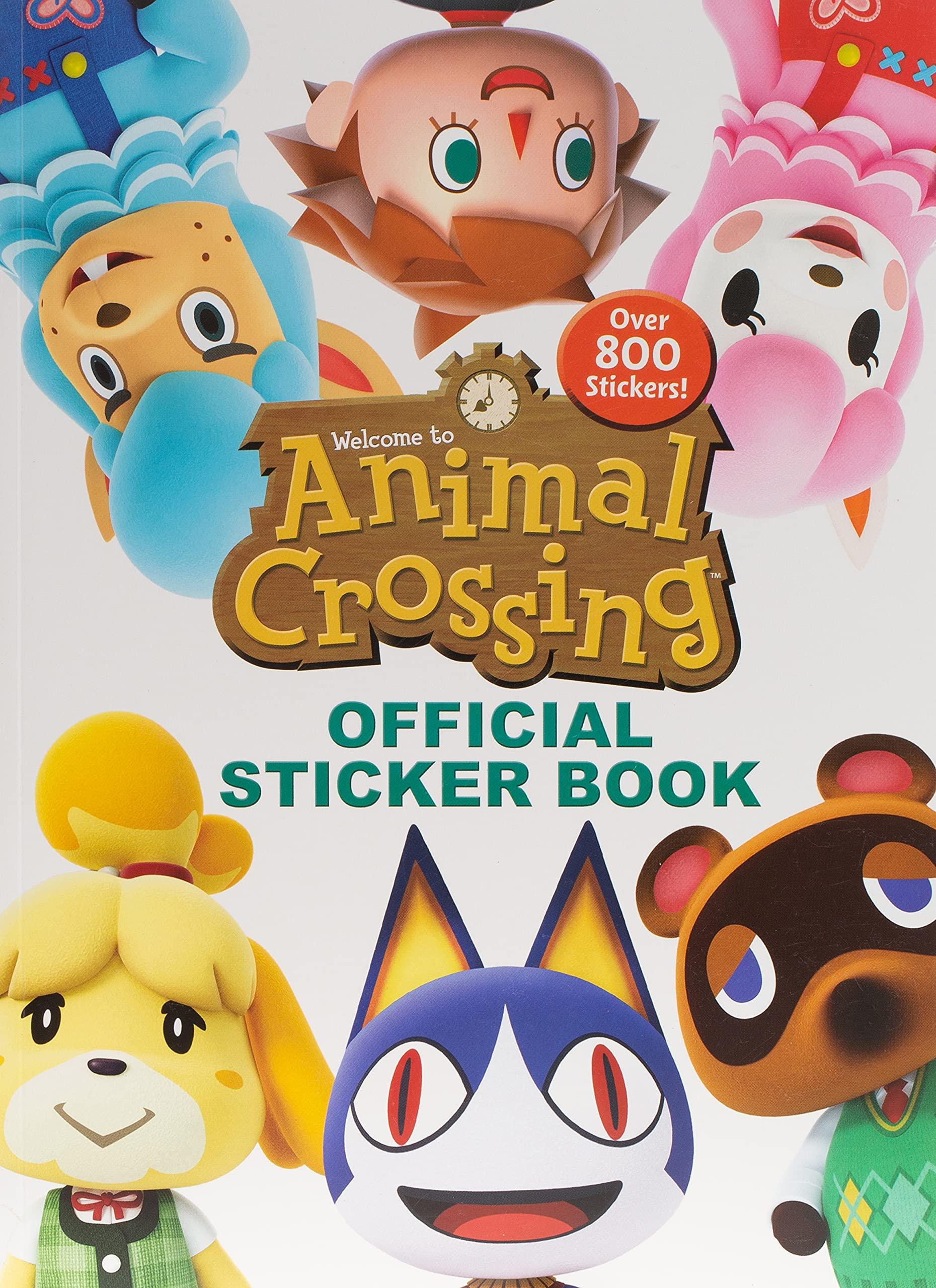 Sticker Animal Crossing (lingua inglese)