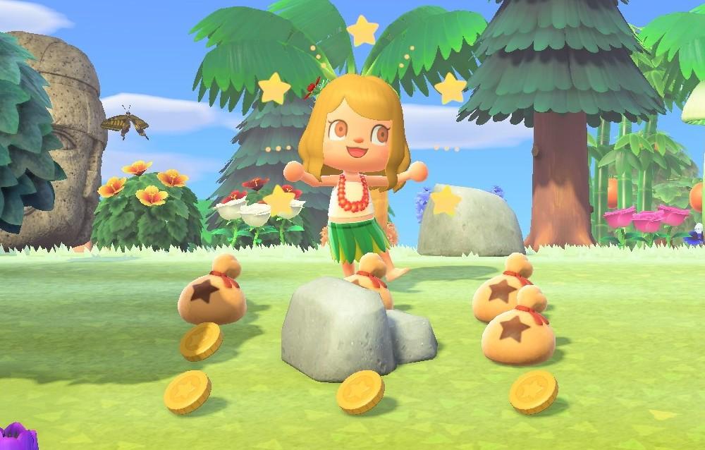 Come guadagnare stelline dalle rocce su Animal Crossing: New Horizons