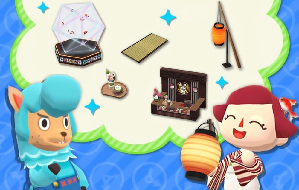 Animal Crossing: Pocket Camp, tre serie dal passato sono tornate disponibili!
