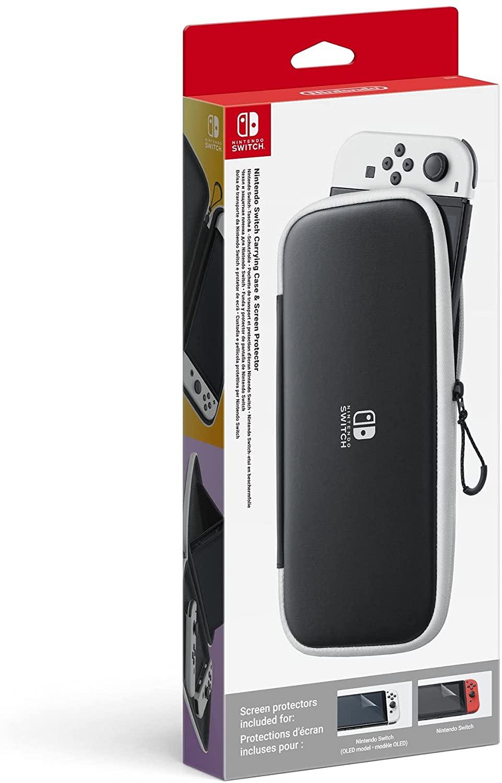 Custodia e Pellicola Protettiva per Nintendo Switch Modello OLED