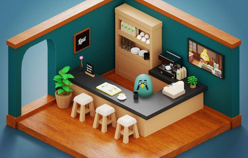 Un fan ha creato un modellino 3D della Piccionaia aspettando l'Animal Crossing: New Horizons Direct!