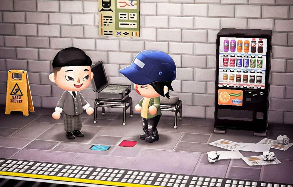 Dei fan hanno ricreato delle scene da Squid Game sulle loro isole di Animal Crossing: New Horizons!