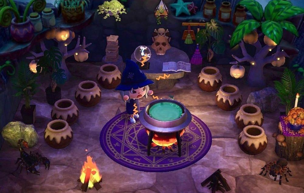 Animal Crossing: New Horizons, un fan ha ricreato in gioco l'iconica scena della capanna della strega di Zelda!