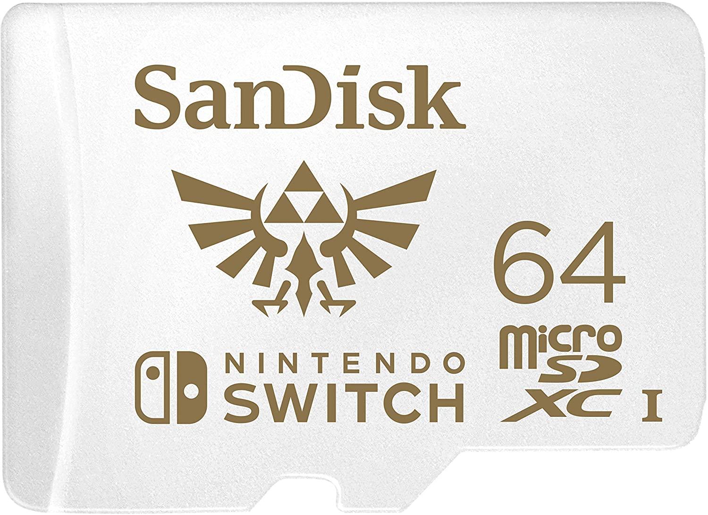 SanDisk microSD versione The Legend of Zelda